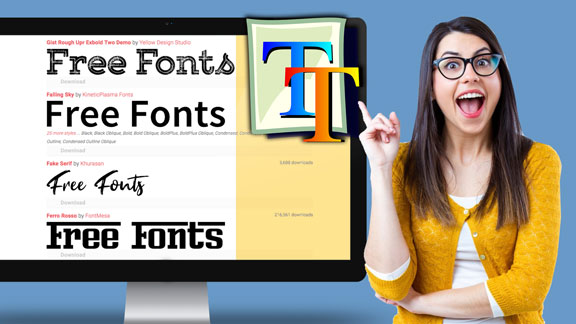 In this course I will show you the tips you need to get all the free fonts you will ever need.